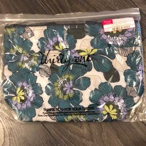 New Thirty-One Crossbody Thermal Tote Garden Party